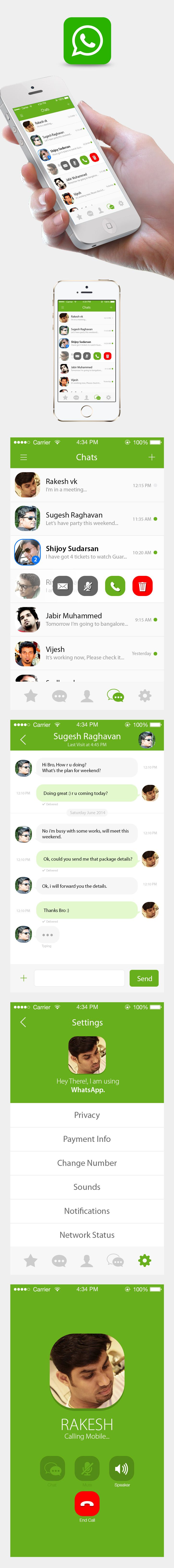 WhatsApp - Concept Redesign